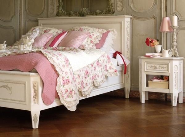 панели для декора спальни стиля прованс