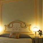 высокие резные панели спальни прованс