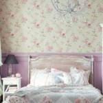 розовые панели спальня девочки