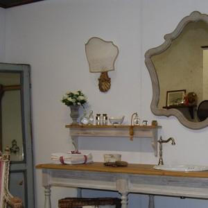 Зеркала ванной прованса