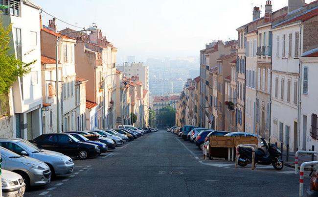 марсель достопримечательности улица к морю
