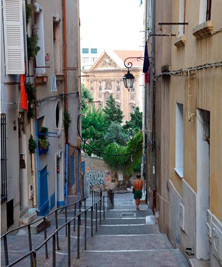 улочки старого города Марсель достопримечаательности