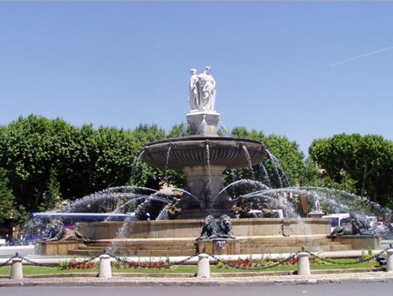 фонтаны Экс-ан-Прованс2
