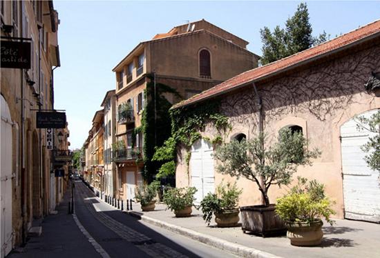 старый город Экс