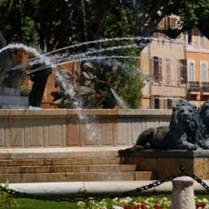 фонтаны Экс-ан-Прованс