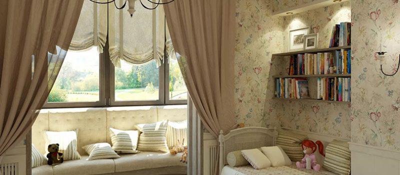 Дизайн комнаты в стиле прованс, — стиль и комфорт
