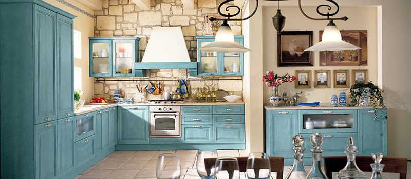 Кухня в стиле прованс: кусочек Франции в вашем доме