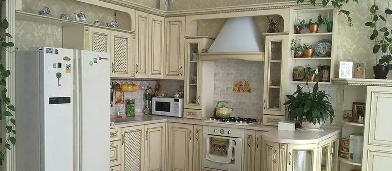 Оформление интерьера кухни в стиле прованс