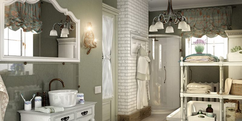 Создание дизайна комнаты в стиле Прованс