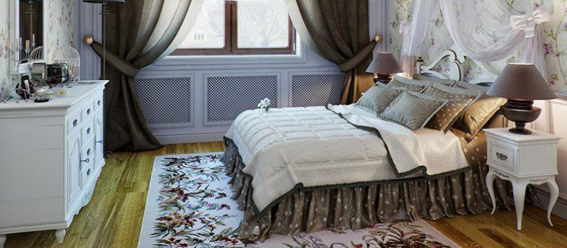 Обустраиваем спальню в стиле Прованс