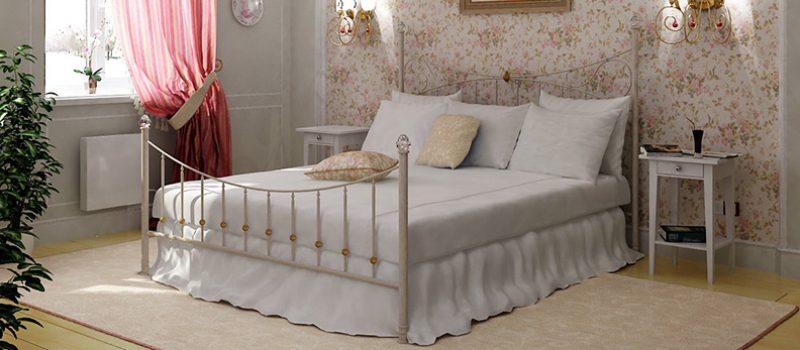 Спальни в французском стиле прованс. Классика не устареет никогда.