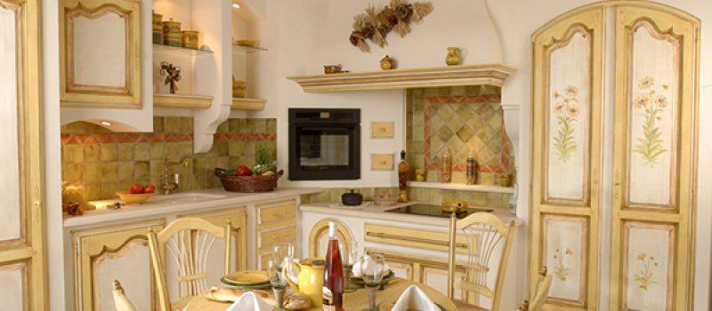Характерные детали кухни в стиле прованс