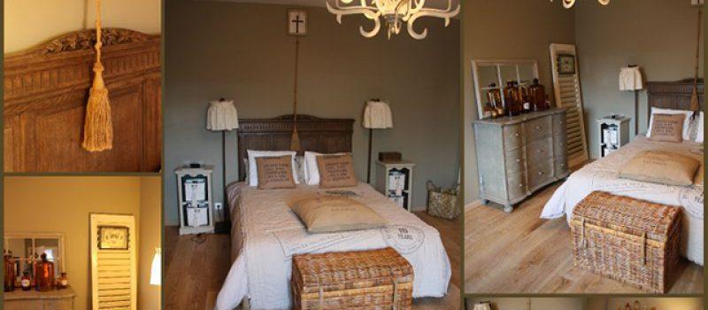 Полы и ковры в интерьере спальни стиля прованс