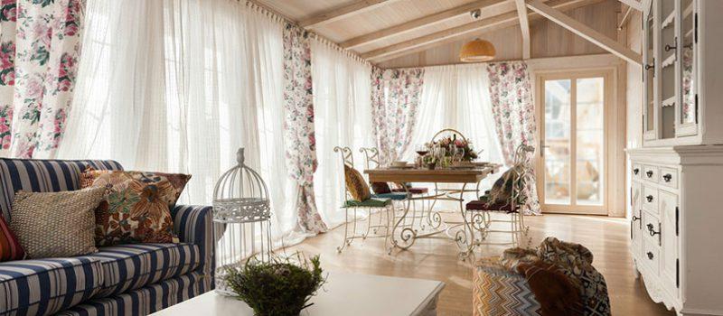 Гостиная в стиле прованс. Особенности интерьера