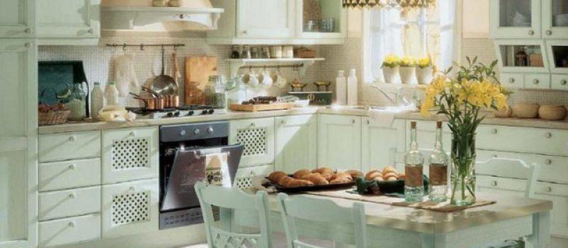 Дизайн кухни в стиле Прованс. Все самое лучшее из Франции.