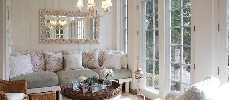 Вся мебель в стиле прованс выполняется «под старину»