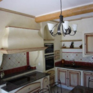 выгоревшие на солнце цвета в кухни прованс