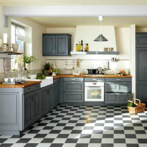серый цвет кухни прованс