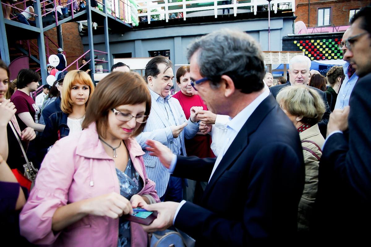 Фестиваль французской культуры на площадке дизайн завода Флакон