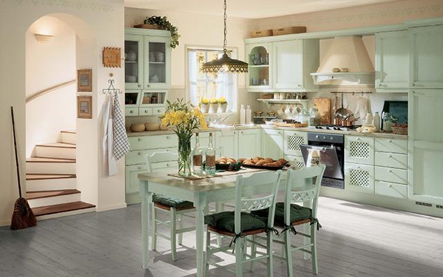 На что обратить внимание при обустройстве кухни в стиле прованс?
