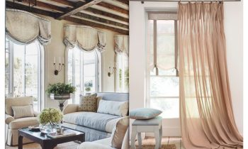 Оформление окна в стиле Прованс.