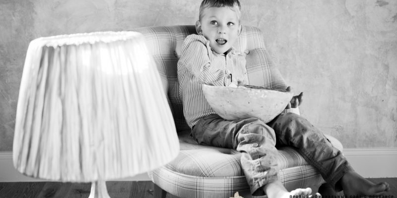 фотосессия в стиле ребенка
